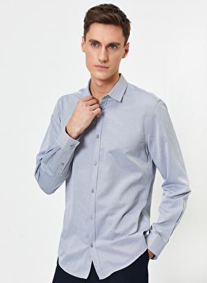 Koton Klasik Yaka Uzun Kollu Slim Fit Smart Gömlek